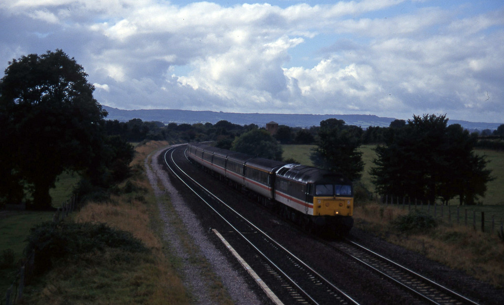 47851, 10.44 Plymouth-Manchester Piccadilly, Cogload, 27-9-96.