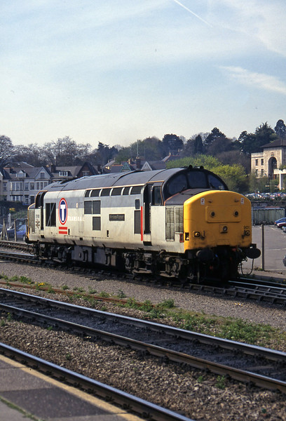 37901, up light to Godfrey Road Stabling Point, Newport, 8-4-97.