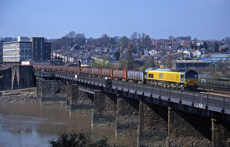 59101, Port Talbot-Llanwern ore, Newport, 1-4-97.