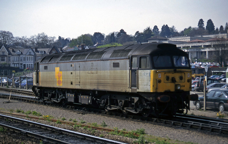 47304, up light to Godfrey Road Stabling Point, Newport, 8-4-97.