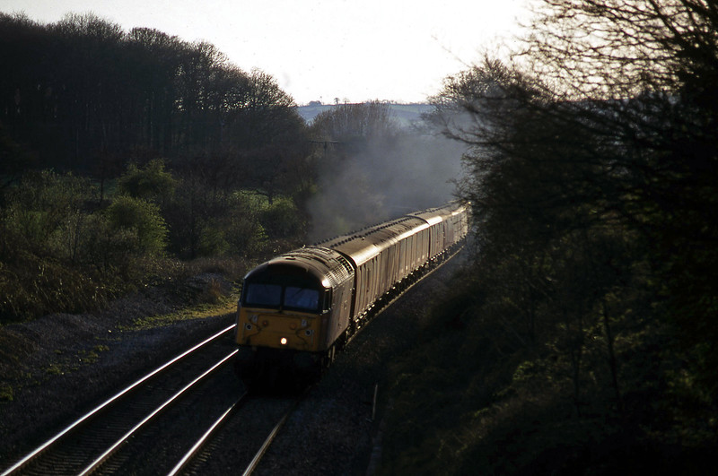 47773, 17.23 Plymouth-Low Fell, Whiteball, 7-4-97.