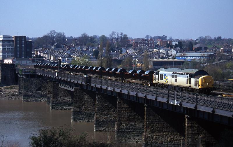37903, 11.34 Ebbw Vale-Llanwern, Newport, 1-4-97.