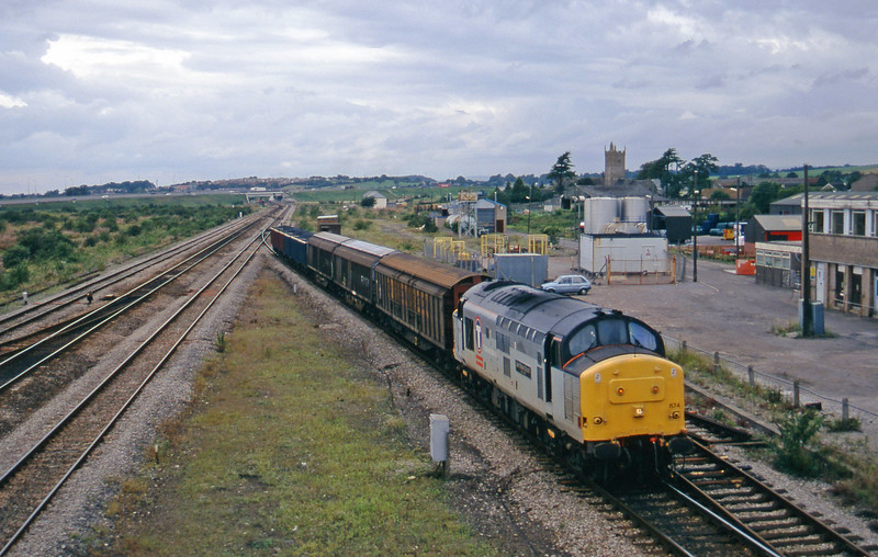 37674, 13.50 Newp[ort Alexandra Dock Junction-St Blazey, Severn Tunnel Junction, 26-8-97.