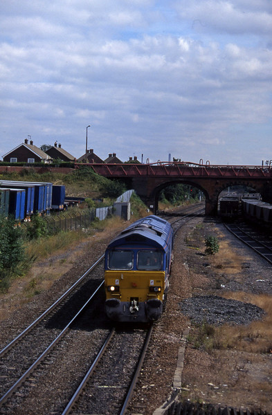 59206, northbound liight, Knottingley, 4-8-97.