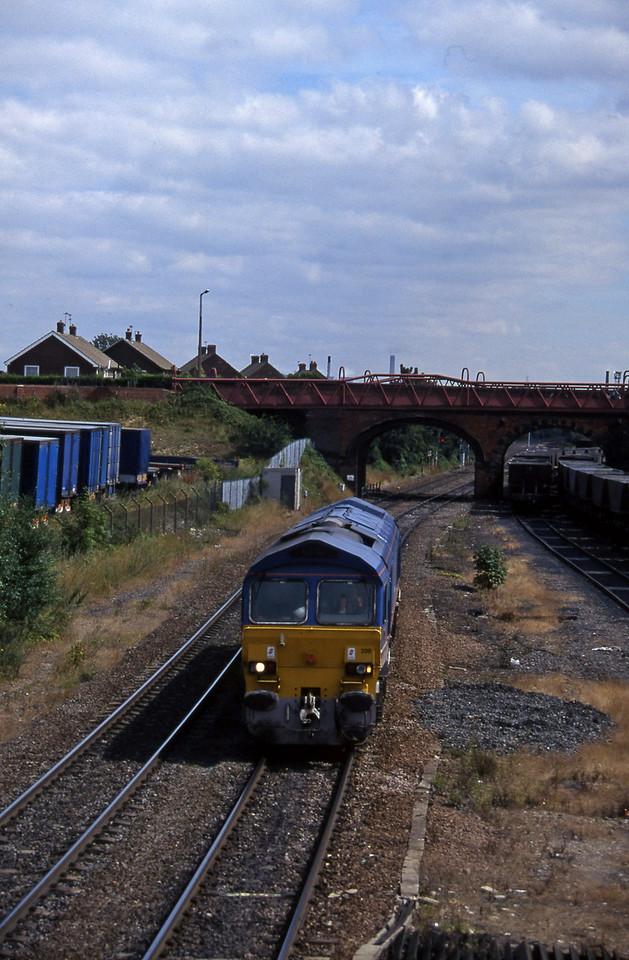 59206, northbound liight, Knottingley, 4-8-97.