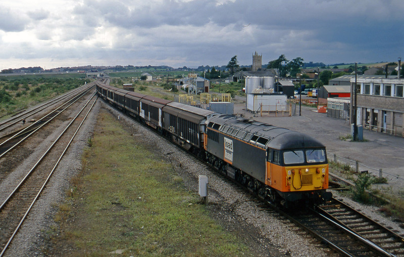 56111, 16.00 Newp[ort Alexandra Dock Junction-Wembley, Severn Tunnel Junction, 26-8-97.