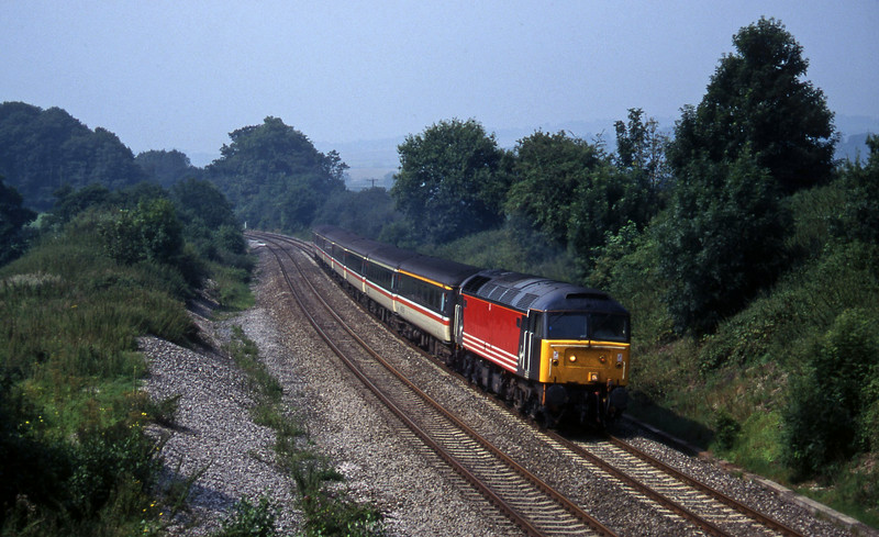 47844, 10.44 Plymouth-Manchester Piccadilly, Whiteball, 8-8-97.