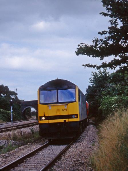 60009, 13.15 Westerleigh-Robeston, Magor, 13-8-97.