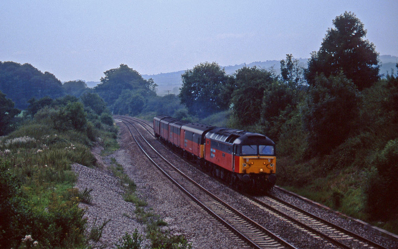 47777, 13.53 Plymouth-Bristol Temple Meads, Whiteball, 11-8-97.