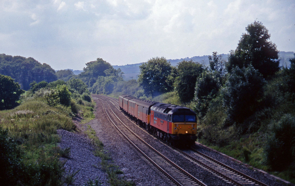47788, 13.53 Plymouth-Bristol Temple Meads, Whiteball, 8-8-97.