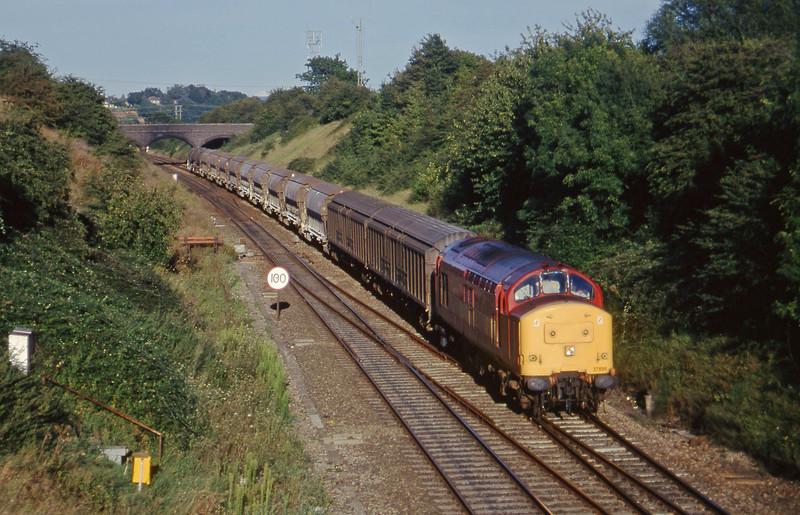 37895, 08.57 Cliffe Vale-St Blazey, Bristol Parkway, 26-8-97.