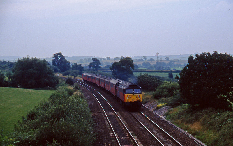 47772, 12.44 Plymouth-Glasgow, Willand, near Tiverton, 11-8-97.