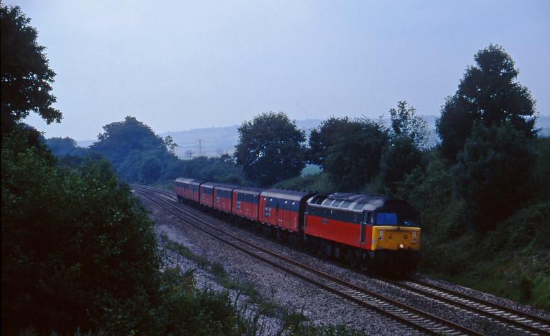 47572, 12.44 Plymouth-Glasgow, Whiteball, 8-8-97.