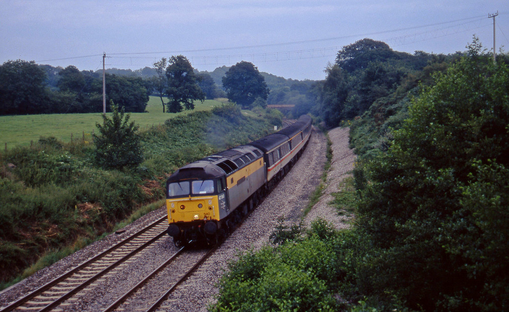 47540, 09.10 Liverpool Lime Street-Plymouth, Whiteball, 11-8-97 (late).