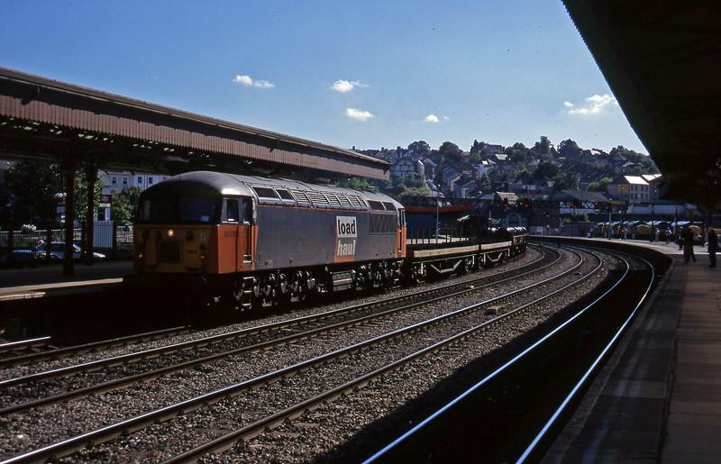 56083, 15.58 Newport Alexandra Dock Junction-Wembley, Newport, 13-8-97.