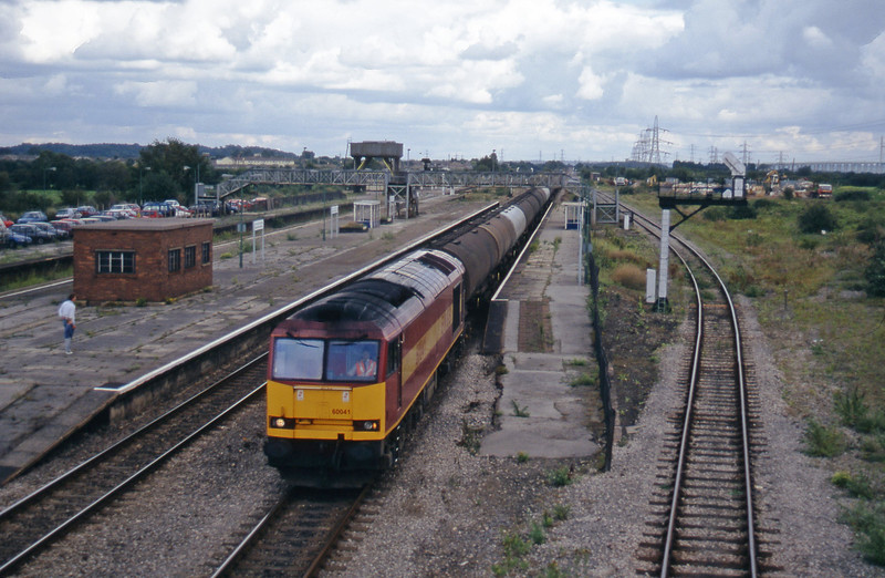 60041, 12.36 Theale-Robeston, Severn Tunnel Junction, 26-8-97.