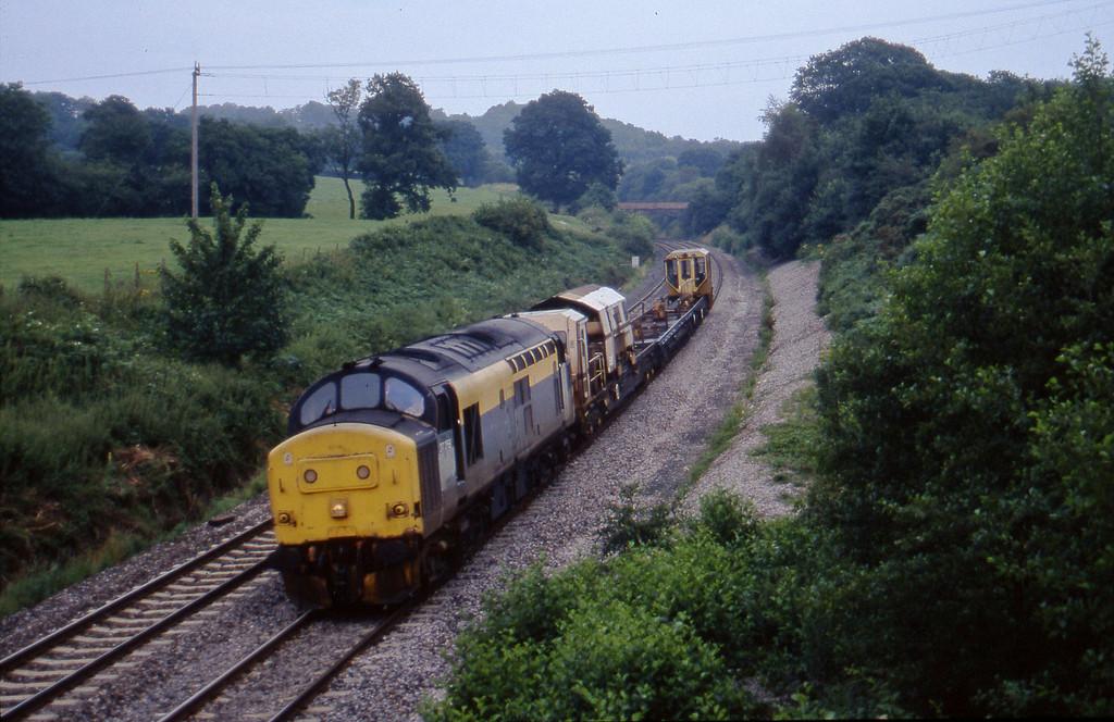 37258, 12.00 Newport Alexandra Dock Junction-Exeter Riverside Yard, Whiteball, 11-8-97.