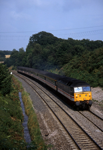 47825, 12.17 Manchester Piccadilly-Plymouth, Whiteball, 11-8-97, late.