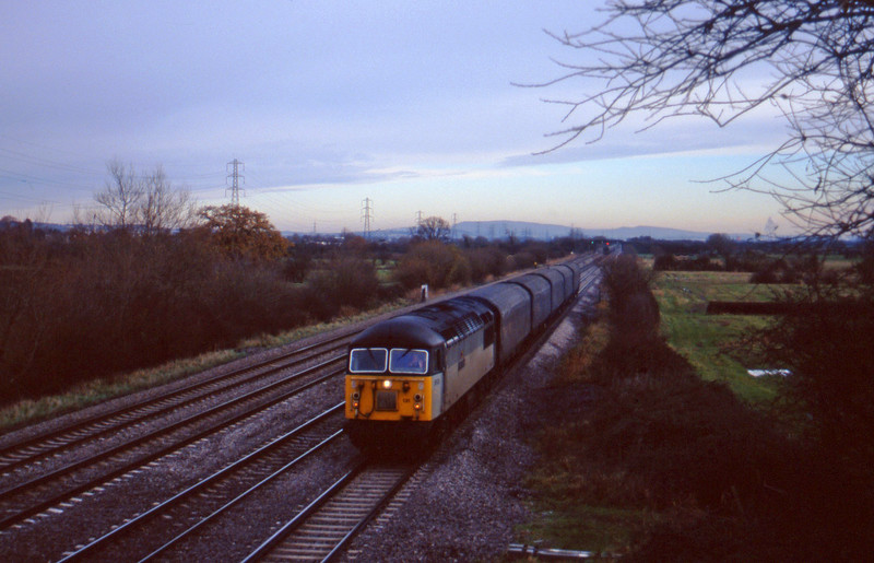 56131, down Tiphooks, St Mellons, near Cardiff, 2-12-97.