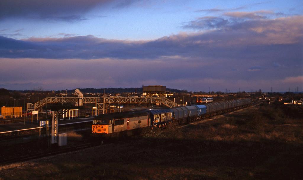 56044, 14.00 Round Oak-Margam, Severn Tunnel Junction, 2-12-97.