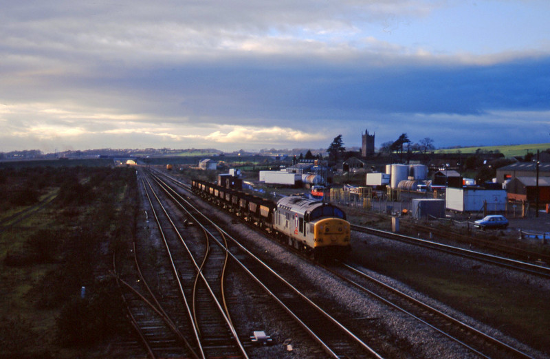 37156,, 14.34  Newport Alexandra Dock Junction-Stud Farm, Severn Tunnel Junction, 2-12-97.