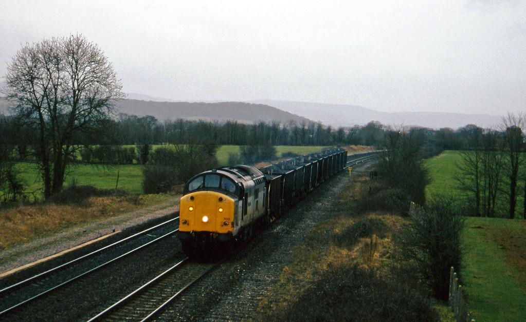 37703, up ballast, Cogload, 11-2-97.