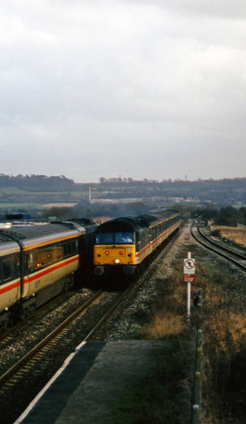 47818, diverted 11.50 Plymouth-Liverpool Lime Street, Pilning, 25-2-97.