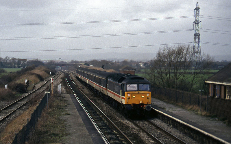 47826, diverted 09.10 Liverpool Lime Street-Plymouth, Pilning, 25-2-97.