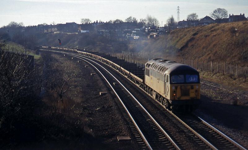 56134, down steel empties, Rotherham, 14-1-97.