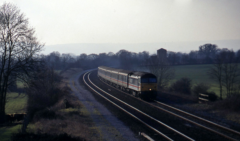47822, 11.40 Plymouth Liverpool Lime Street, Cogload, 28-1-97.