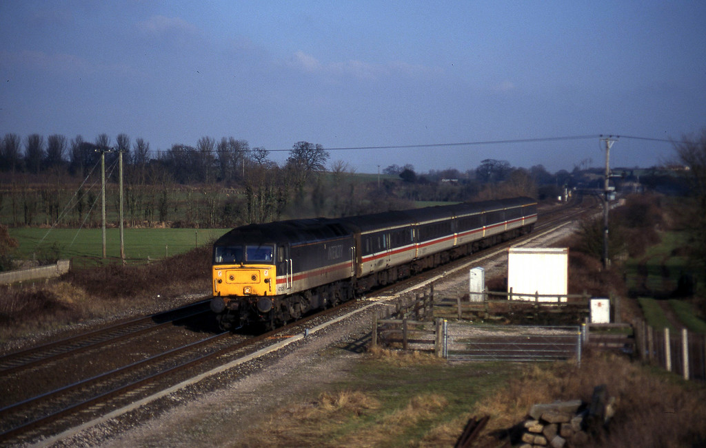 47829, 09.10 Liverpool Lime Street-Plymouth, Cogload, 28-1-97.