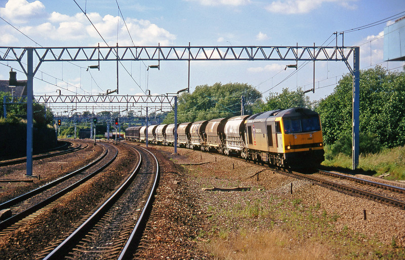 60089, 17.32 Cliffe Vale-St Blazey, Norton Bridge, near Stafford, 8-7-97.