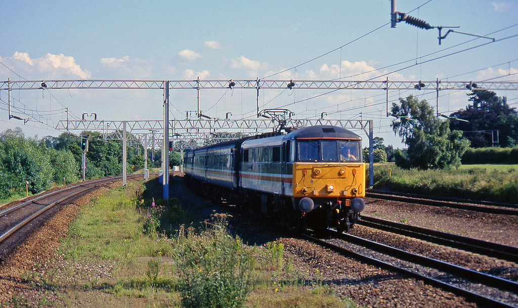 86247, down, Norton Bridge, near Stafford, 8-7-97.
