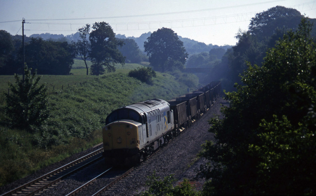 37515, Westbury Yard-Meldon Quarry, Whiteball, 20-7-97.