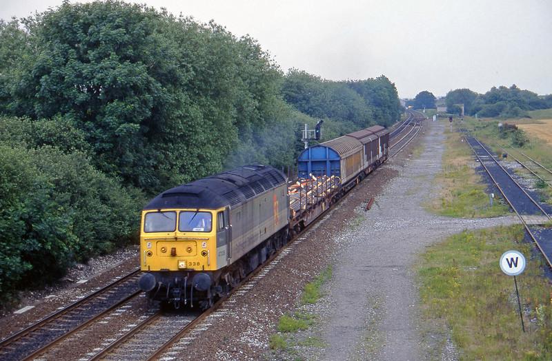 47338,11.52 Wakefield-Washwood Heath, Stenson Junction, near Derby, 8-7-97.