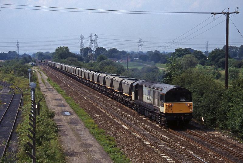 58019, Drakelow Power Station-Denaby, Stenson Junction, near Derby, 8-7-97.