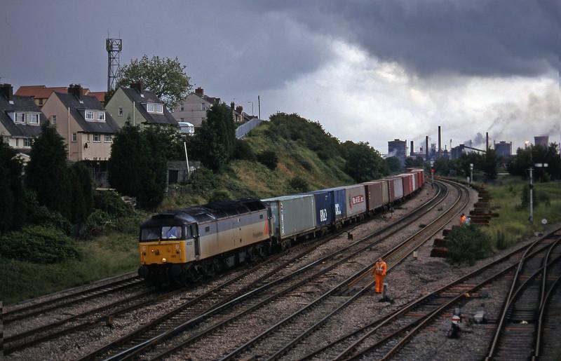 47323, down Freightliner, Somerton, Newport, 1-7-97.
