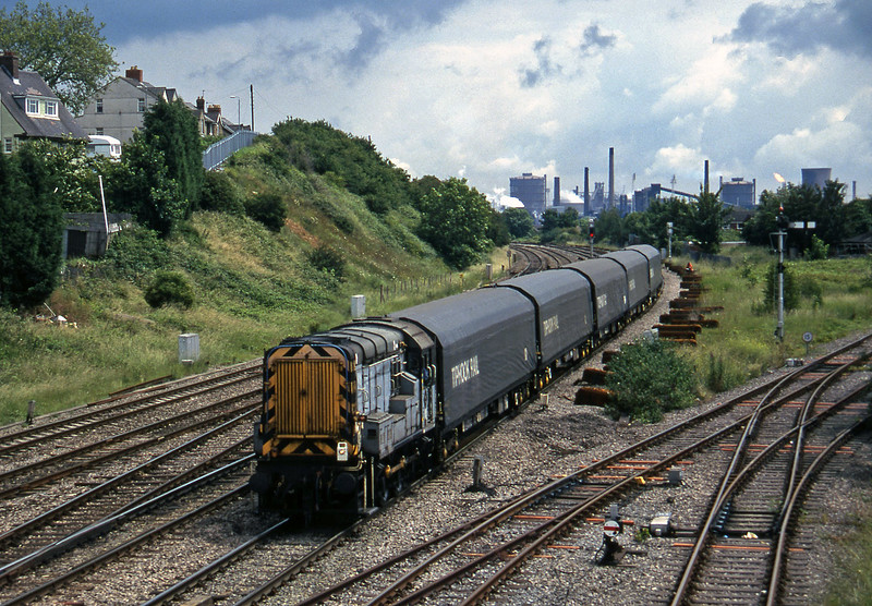 09107, down steel trip, Somerton, Newport, 1-7-97.