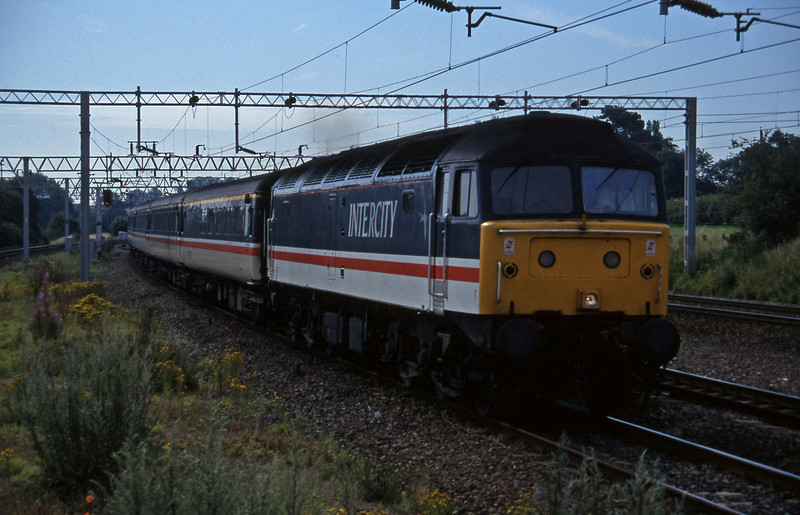 47839, 05.50 Boiurnemouth-Manchester Piccadilly, Norton Bridge, near Stafford, 22-7-97.