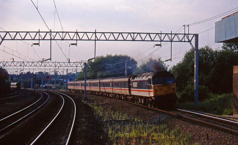 47849, 18.00 Manchest Piccadilly-Birmingham New Street, Norton Bridge, near Stafford, 22-7-97.