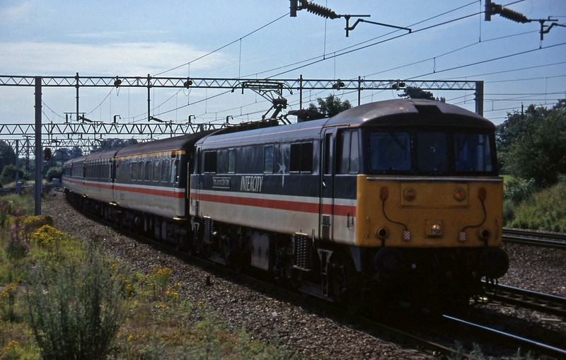 86252, Birmingham New Street-Manchester Piccadilly, Norton Bridge, near Stafford, 22-7-97.