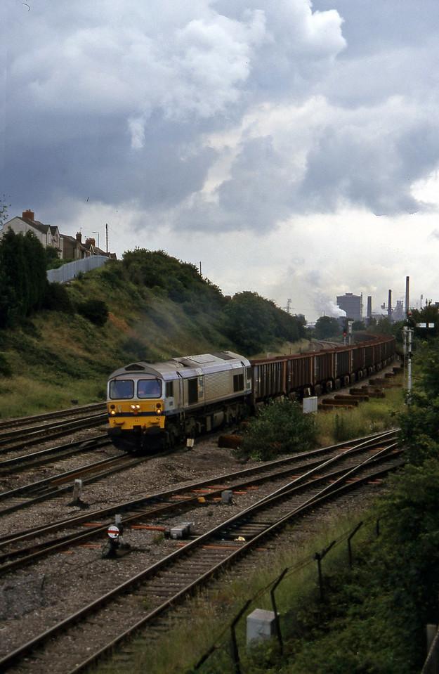 59002, Llanwern-Port Talbot, Somerton, Newport, 1-7-97.