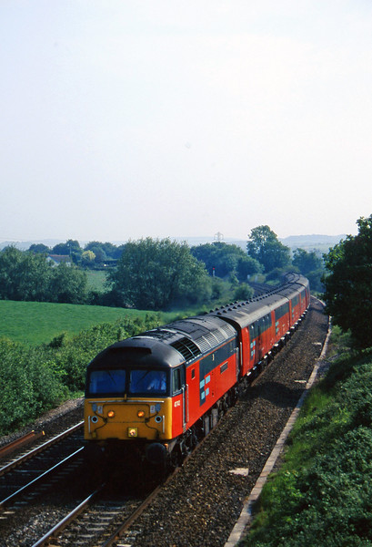 47742, 15.09 Plymouth-Low Fell, Willand, near Tiverton, 3-6-97.