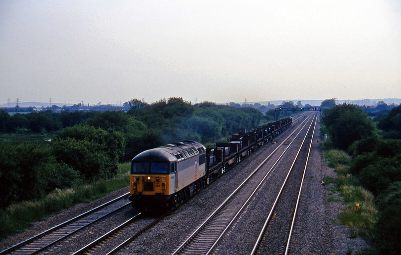 56064, up steel, St Mellons, near Cardiff, 17-6-97.