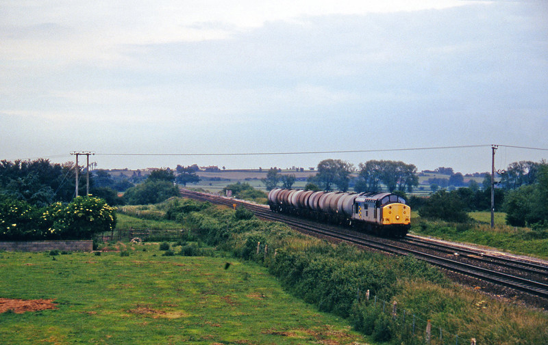 37708, 13.34 Fawley-Plymouth Tavistock Junction Yard, Cogload, 16-6-97.