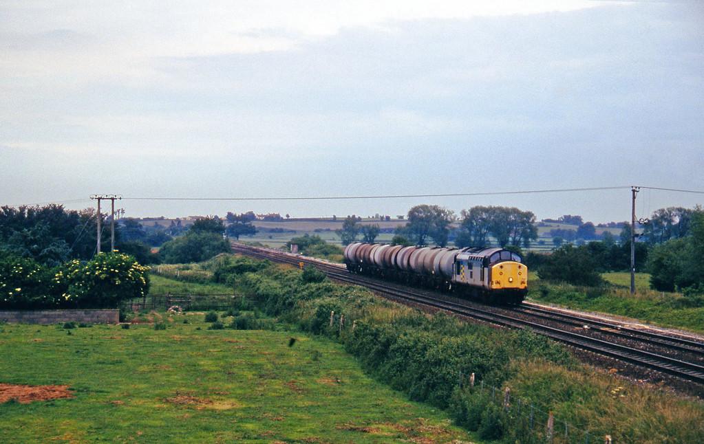 37708, 13.34 Fawley-Plymouth Tavistock Junction Yard, Cogload, 16-6-97.