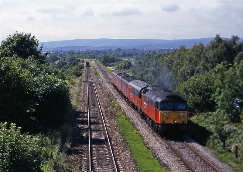 47780, 14.25 Swansea-London, Cattybrook, Bristol, 25-6-97.