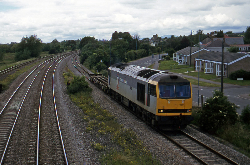 60089, 13.45 Newport Alexandra Dock Junction-St Blazey, Undy, 25-6-97.