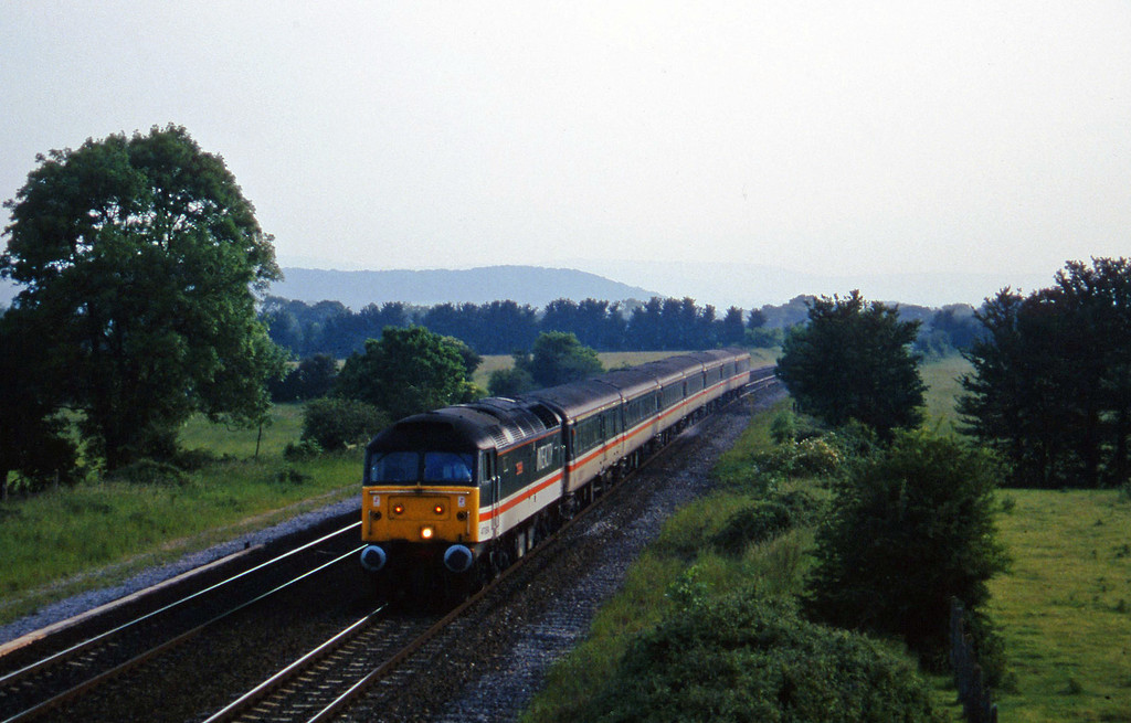 47854, 16.50 Plymouth-Sheffield, Cogload, 4-6-97.