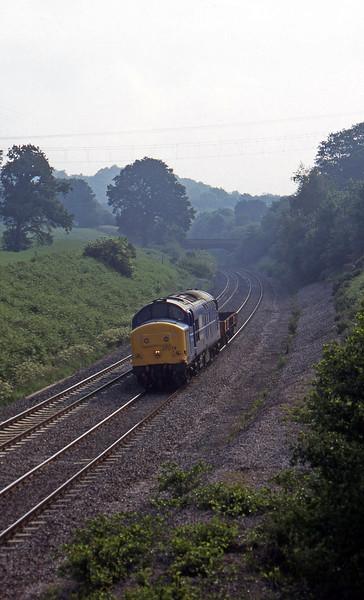 37074, 05.04 Eastleigh Yard-Meldon Quarry, Whiteball,, 17-6-97.